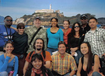 CORAL Programs staff at Alcatraz