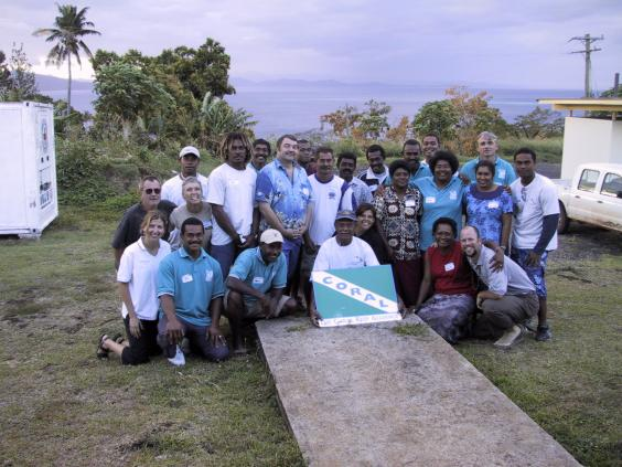 Taveuni workshop participants