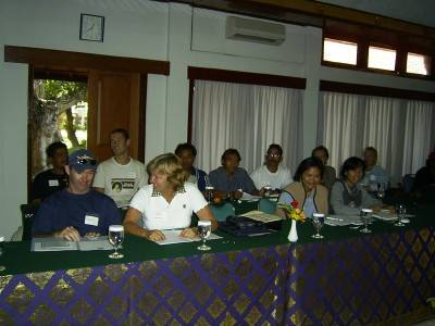 Graham Abbott, Helen Newman and other participants